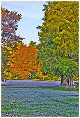 'urweltbäume' in spandau