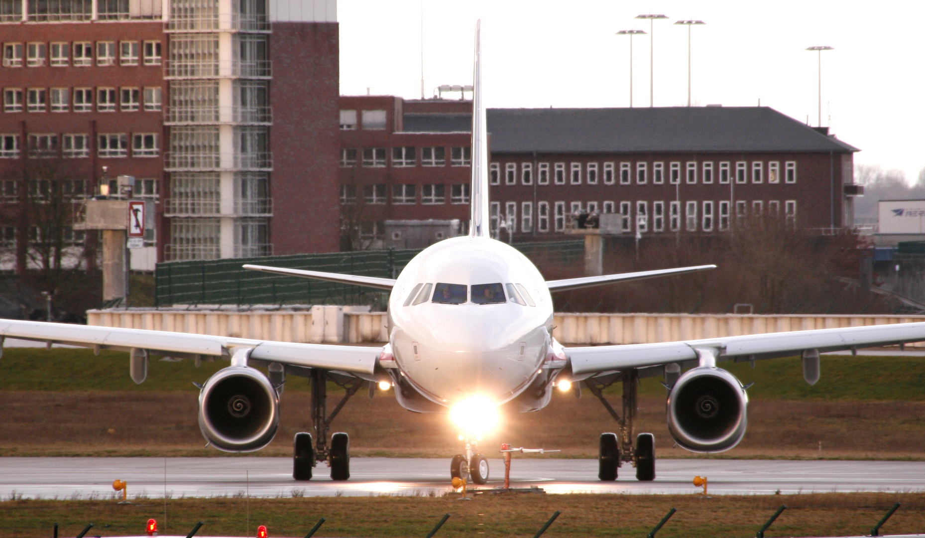 U.S. Airways. Finkenwerder 30.12.2011