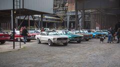 US Car Treffen im Landschaftspark Duisburg-V01