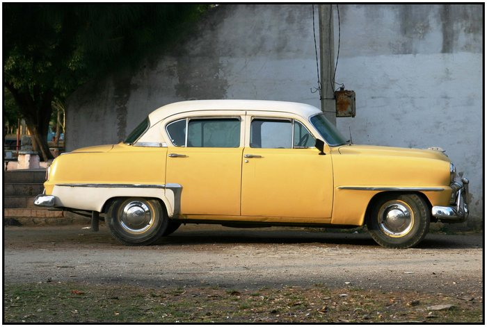 """US - Oldtimer in Cuba / """"Mein"""" Plymouth Cranbrook"""
