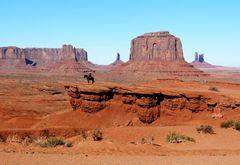 """USA 2011 - Autorundreise """"Grand Circle"""" - """"Klassische Westernszene"""" im Monument Valley"""