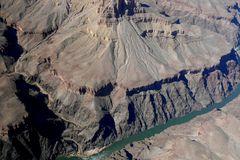 """USA 2011 - Autorundreise """"Grand Circle"""" - So sieht der Colorado aus der Vogelperspektive aus"""