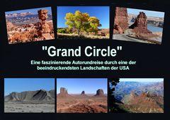 """USA 2011 - Autorundreise """"Grand Circle"""" - Titelcollage meiner DVD"""