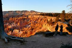 "USA 2013 - Rundreise ""Grand Circle"" (1) - Sonnenaufgang im Bryce Canyon"
