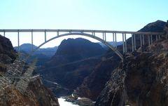 "USA 2013 - Rundreise ""Grand Circle"" 2013 (20) - Colorado River Bridge vor dem Hoover Staudamm"