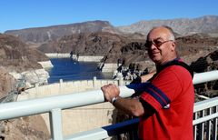 "USA 2013 - Rundreise ""Grand Circle"" (21) - Colorado River Bridge Richtung Hoover Talsperre"
