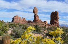 "USA 2013 - Rundreise ""Grand Circle""  (8) - ""Balanced Rock"" im Arches Nationalpark"