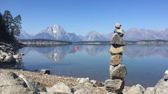 USA 2018 - Colter Bay am Jackson Lake (USA) - 2