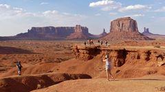 USA 2018 - Fotostopp auf der Tour durch's Monument Valley (3)