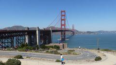 USA 2018 - Golden Gate Bridge in San Francisco