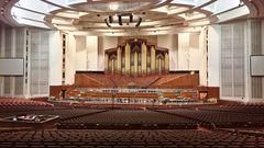 USA 2018 - Mormonen-Tabernakel  in Salt Lake City