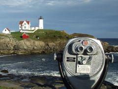 USA: Cape Neddick im Süden von Maine