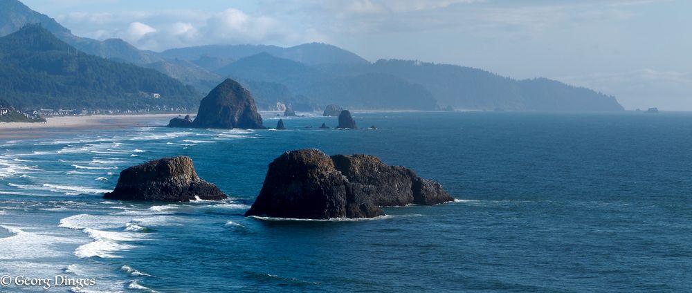 USA Oregon-Küste: Cannon-beach