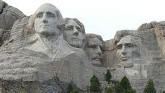 USA-Reise 2018 - Präsidentenbesuch am Mt. Rushmore