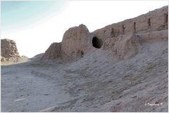 Usbekistan - Ajas Kale - Festungsmauern