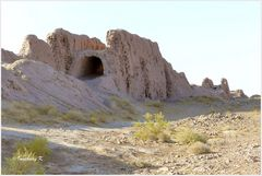 Usbekistan - Ajaz Kale - Festungsmauern