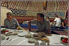 Usbekistan - Ajaz Kale - Jurtenlager