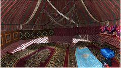 Usbekistan - Ajaz Kale - Jurtenlager - mein Nachtlager