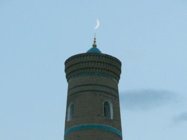 Usbekistan, Chiva: Juma Minarett