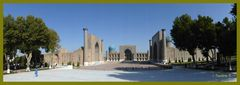 Usbekistan - Samarkand - Registan-Platz