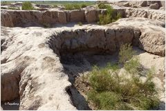 Usbekistan - Toprak Kala - Mauerreste