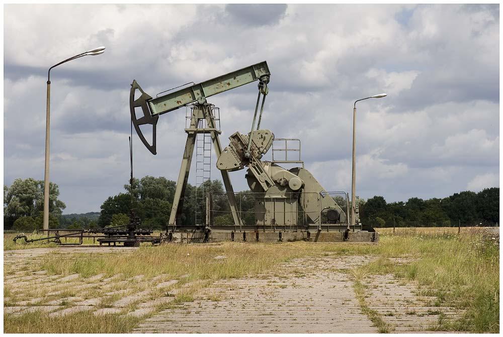 Usedom Förderung von Roherdöl