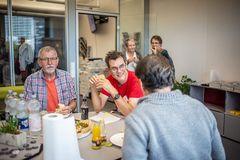 Usertreffen im Office der fotocommunity zur photokina 2018
