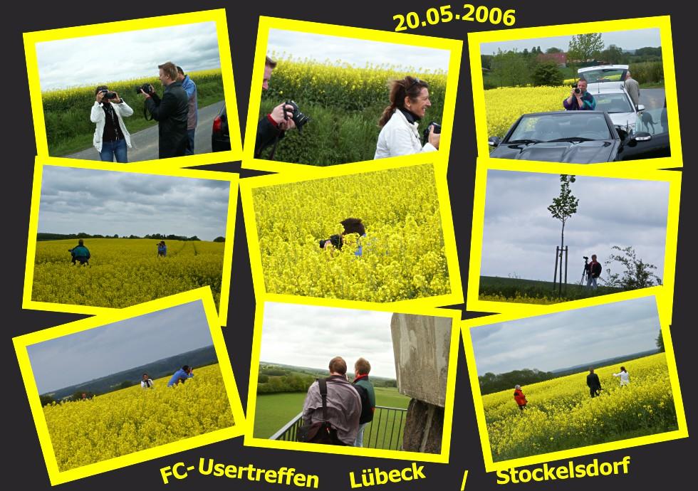Usertreffen Lübeck / Stockelsdorf - Rapsfeld-Tour 20.05.2006