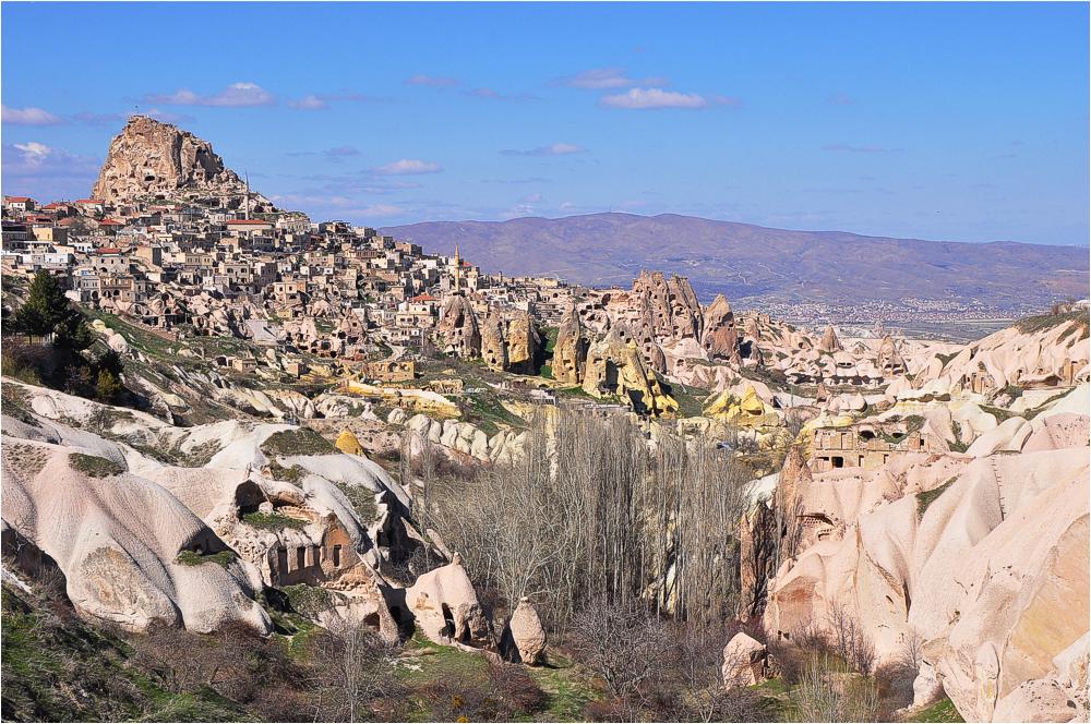 Ushisar in Kappadokien/Türkei
