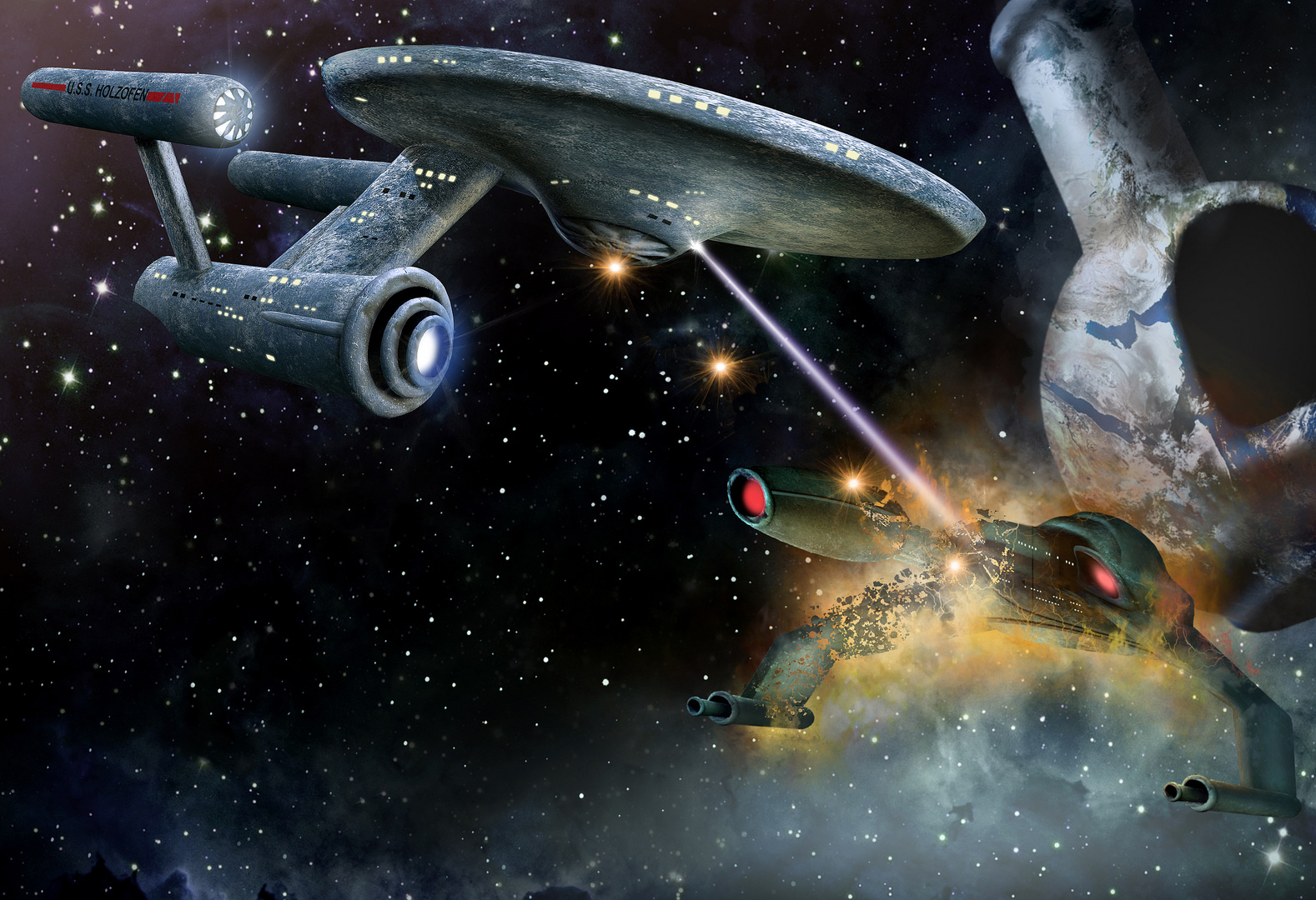 U.S.S. HOLZOFEN Capter Two