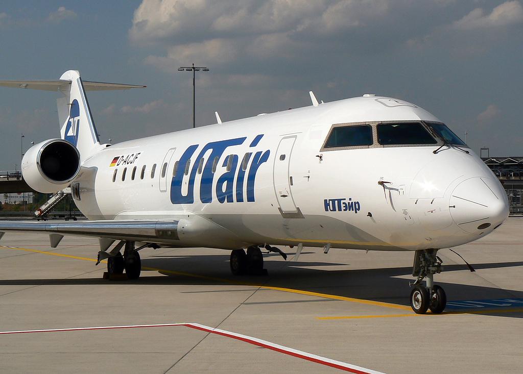 UT Air Candair Regional Jet CRJ100LR D-ACJF