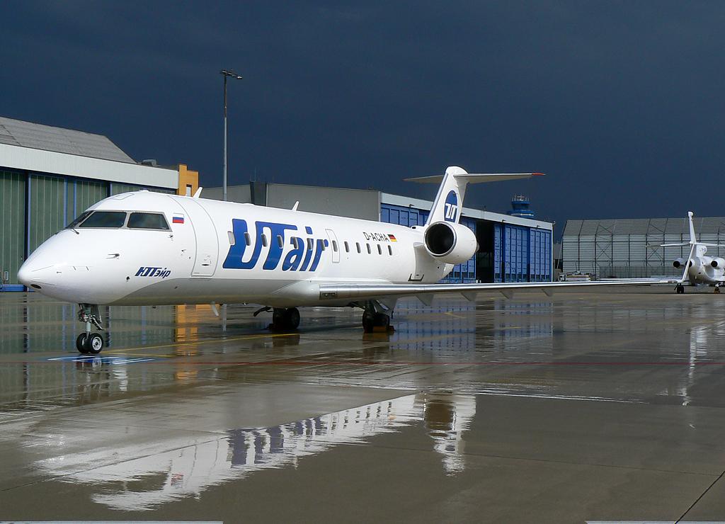 UT Air Candair Regional Jet CRJ200LR D-ACHA
