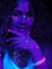 UV-Farben Shooting