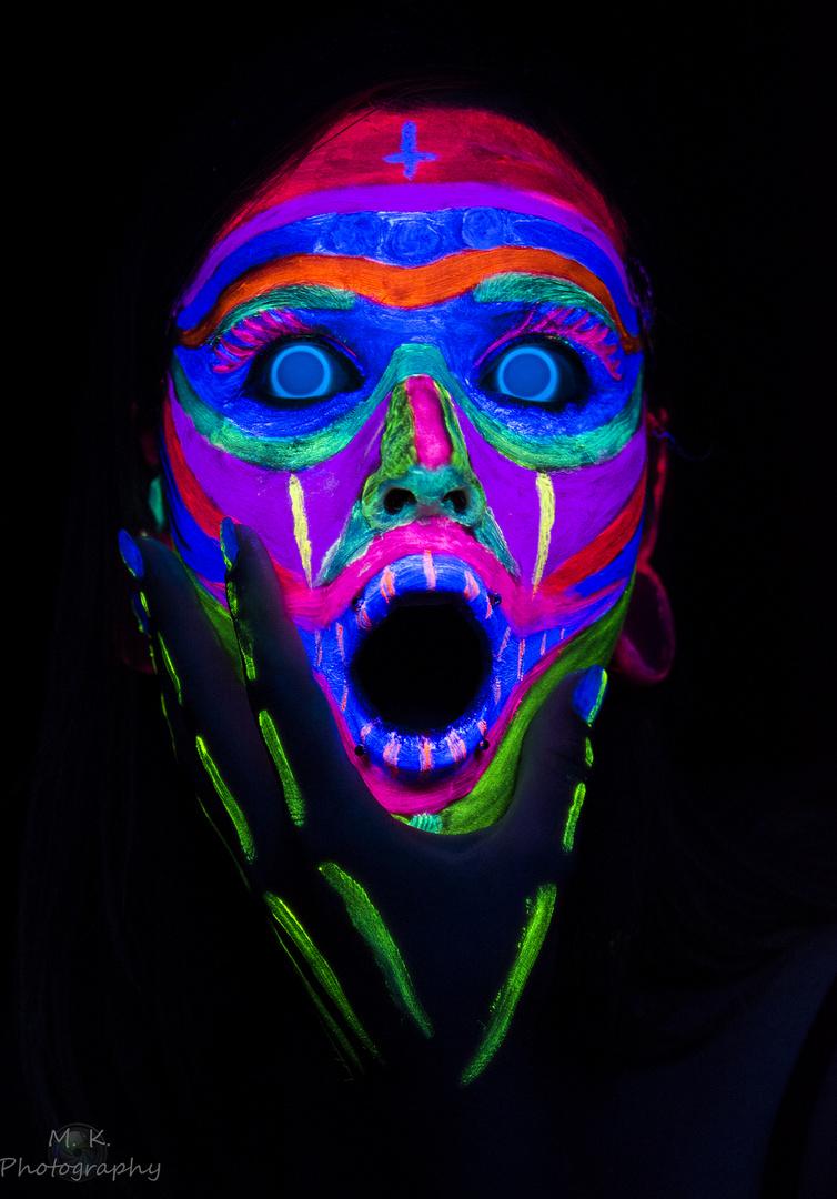 UV Licht Shooting Foto & Bild