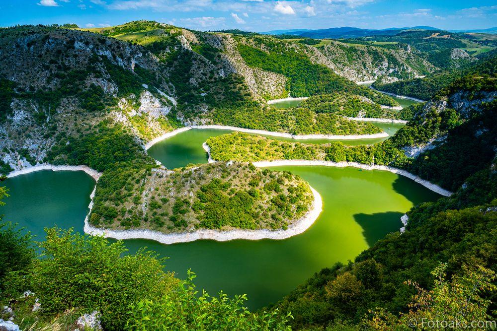Uvac-Serbien