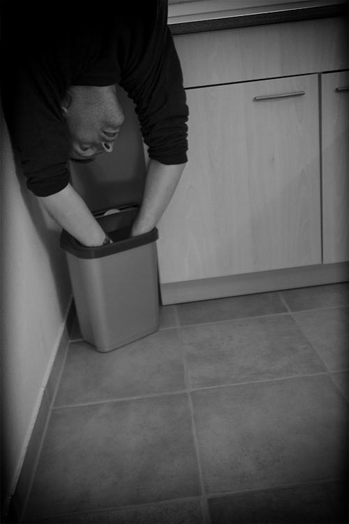 Uwe, du solltest doch nur den Müll raus bringen