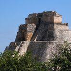 Uxmal - Ruinen einer ehemals großen und kulturell bedeutenden Stadt der Maya in Mexiko