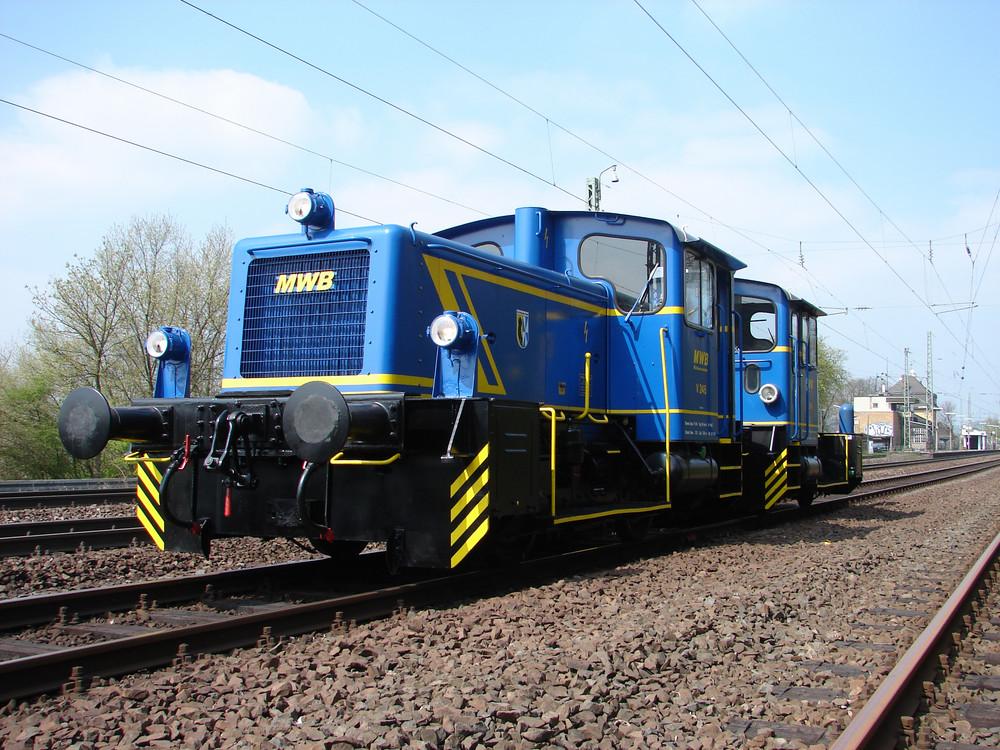 V 246 & V 249 auf dem Weg von Siegen nach Pforzheim (2007)