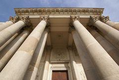 Vác - Fassade Detail (Kathedrale)
