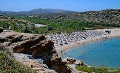 Vai - der berühmte Palmenstrand von Kreta