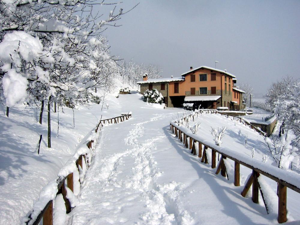 Vaierana (BO) sotto la neve