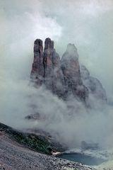 Vajolettürme im Nebel - 1964