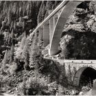 Val di Lei Bridges, Old and New