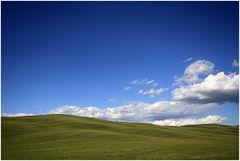 Val d'Orcia - pure Landschaft