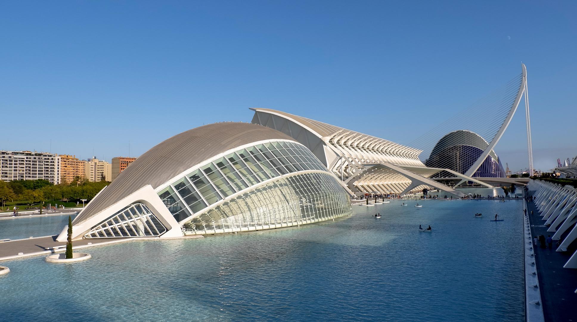 Valencia (Ciudad de las Artes y las Ciencias)