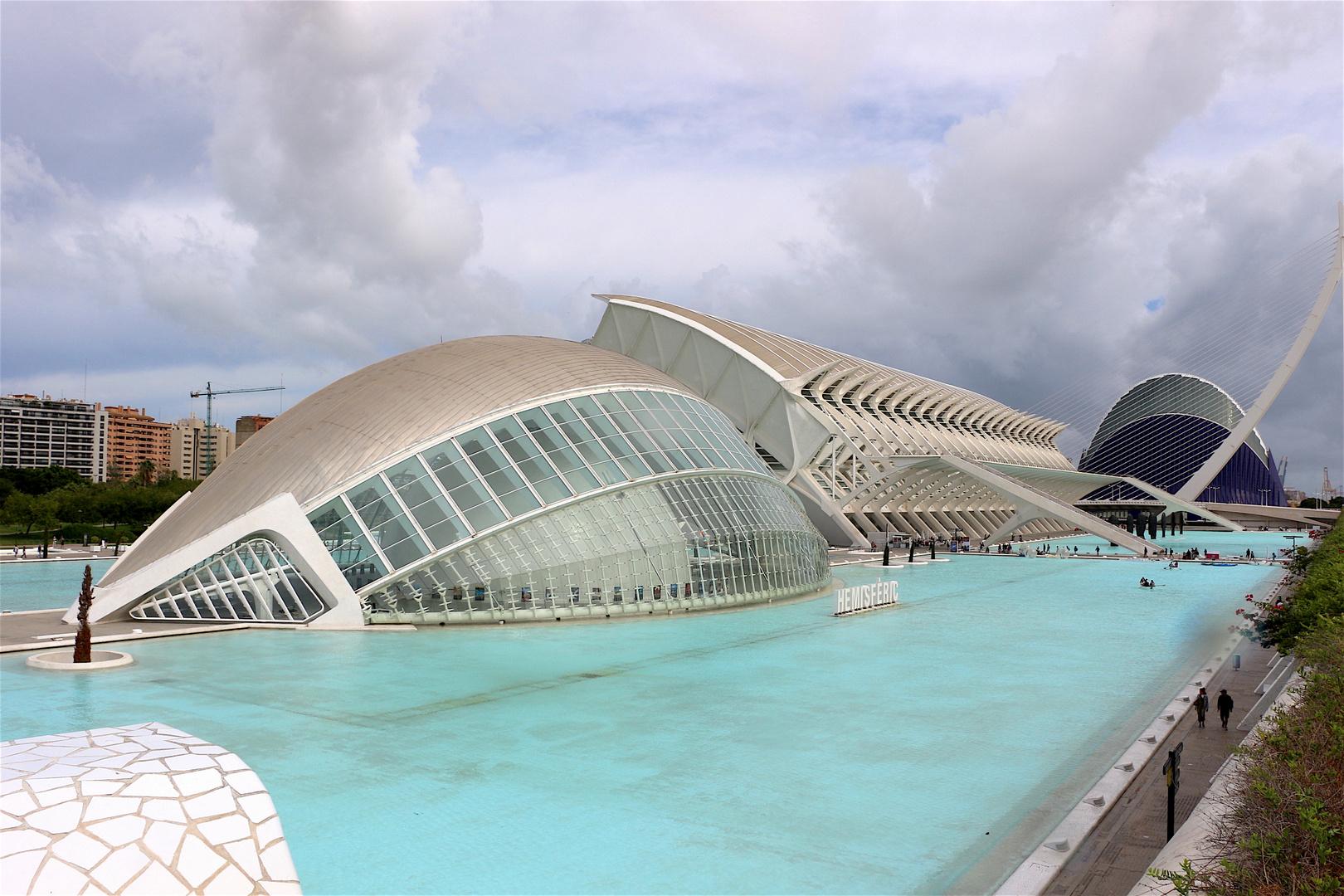Valencia e la Città delle Arti e delle Scienze
