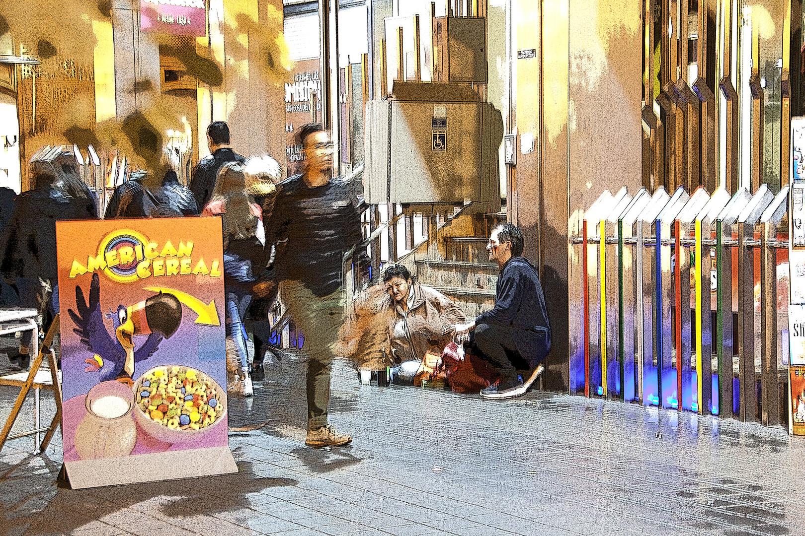 Valencia la calle