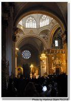 Valencia, Misa en la Catedral de Valencia