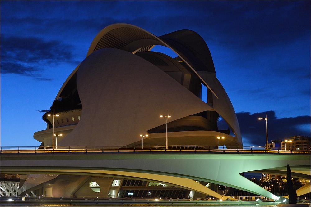 Valencia nightfall