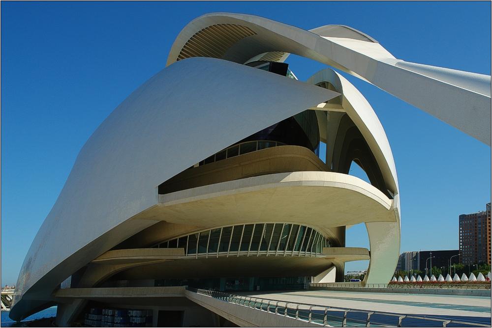 Valencia, Palau de les Arts Reína Sofía 4